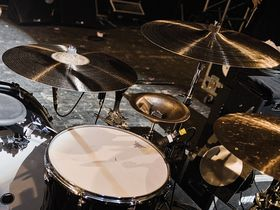 Interpol's drum setup in pictures