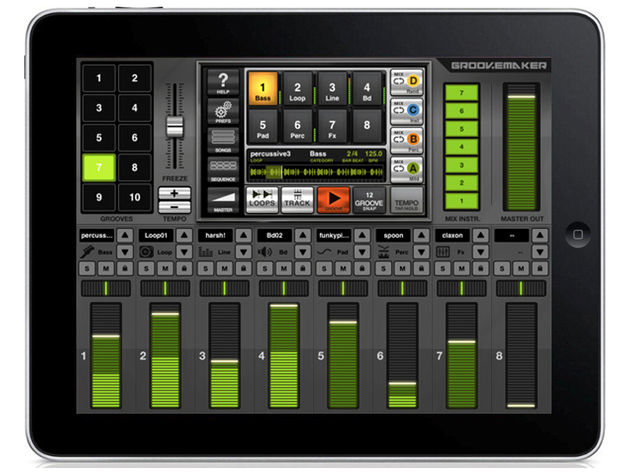 IK Multimedia GrooveMaker for iPad, Free/£5.99 each
