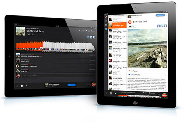 Soundcloud for iPad, £Free