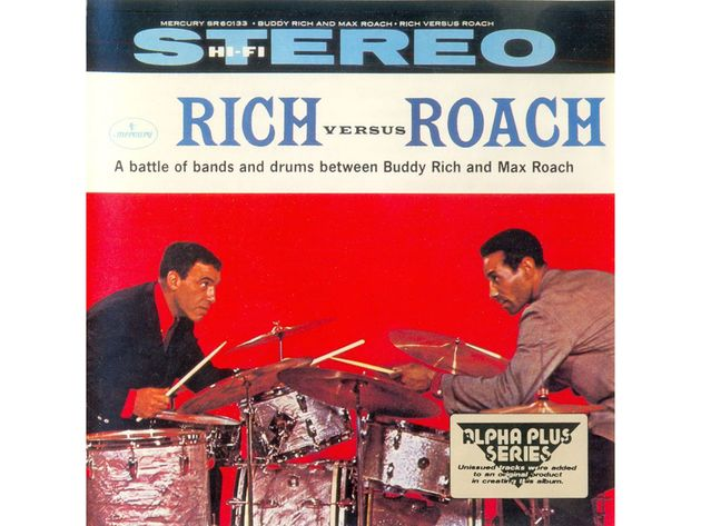 Buddy Rich/Max Roach – Rich Versus Roach (1959)