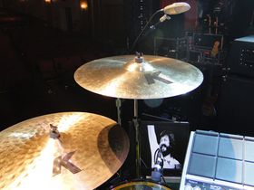 Jason Bonham's Led Zeppelin Experience drum setup in pictures
