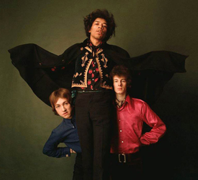 Are You Experienced, alternate album cover shot