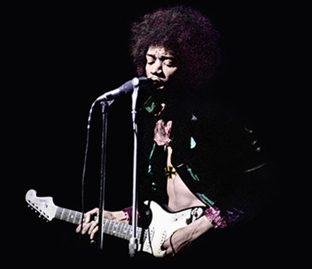 Jimi plays Sgt Pepper...for The Beatles!