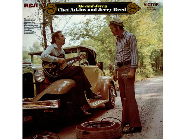 Chet Atkins and Jerry Reed – Me & Jerry (1970)