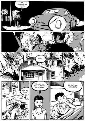 18-page preview: Johnny Cash - I See A Darkness graphic novel