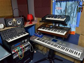 In pictures: Jon Hopkins' London studio
