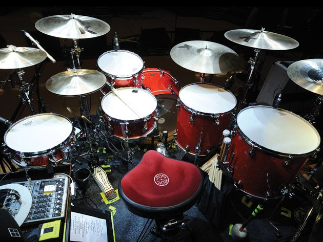 Ian Matthews' Kasabian kit