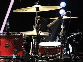 Kasabian's drum setup in pictures