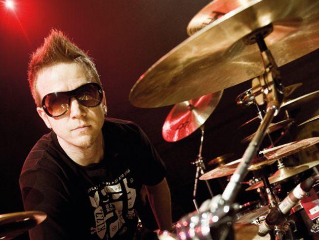 Pendulum's KJ Sawka's drum setup