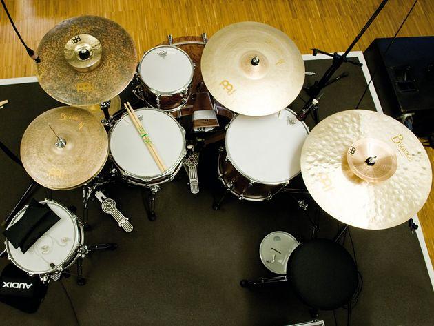 Benny Greb's kit