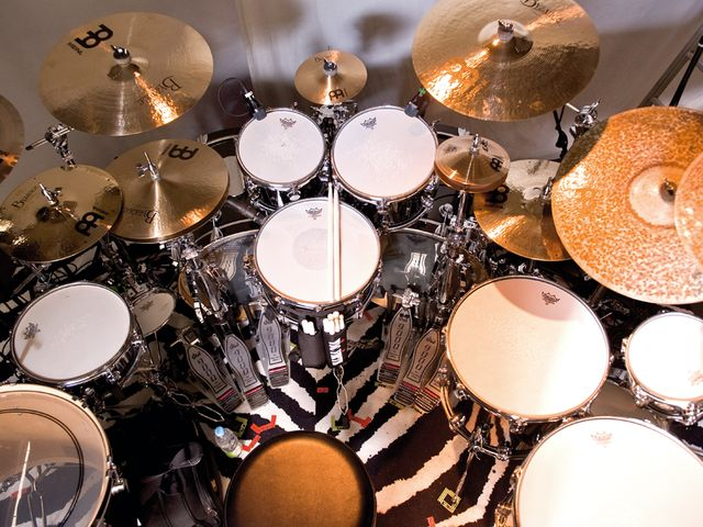 Thomas Lang's kit