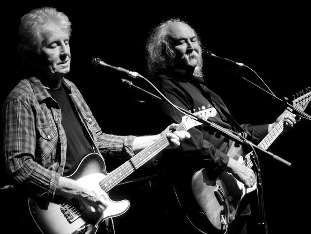 David Crosby and Graham Nash