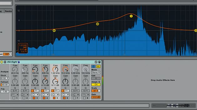 EQ Eight: one of a number of significantly revamped devices
