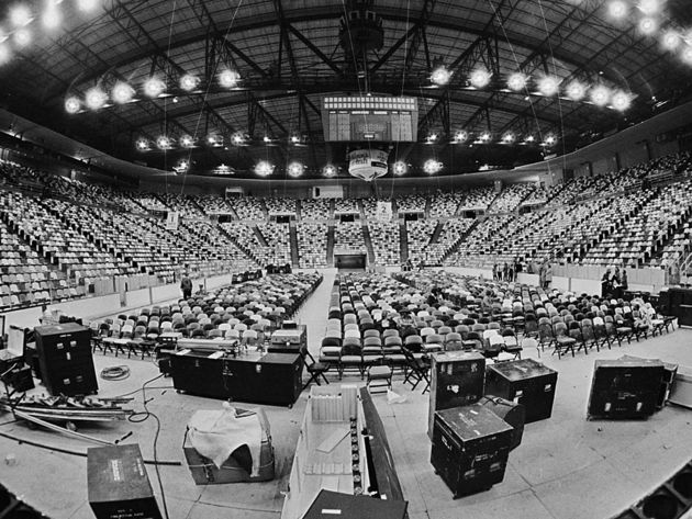 You probably don't need anything as big as Led Zeppelin's 1975 arena rig for pub gigs...