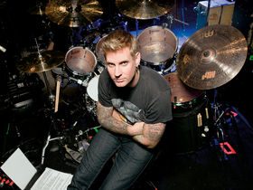 Brann Dailor's Mastodon drum setup in pictures