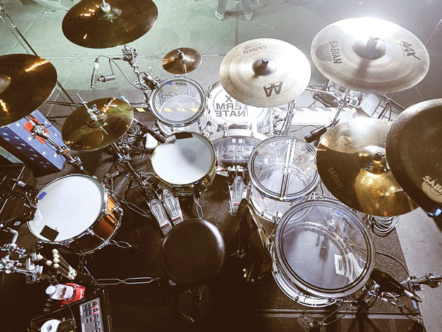 Le kit de Mike Pedicone du groupe My Chemical Romance