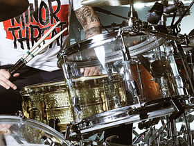 My Chemical Romance's drum setup in pictures