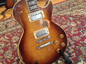Scott gorham's 1957 gibson les paul