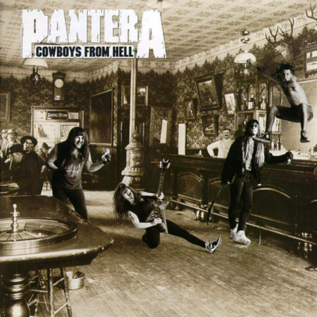 Pantera - Cowboys From Hell (1990)