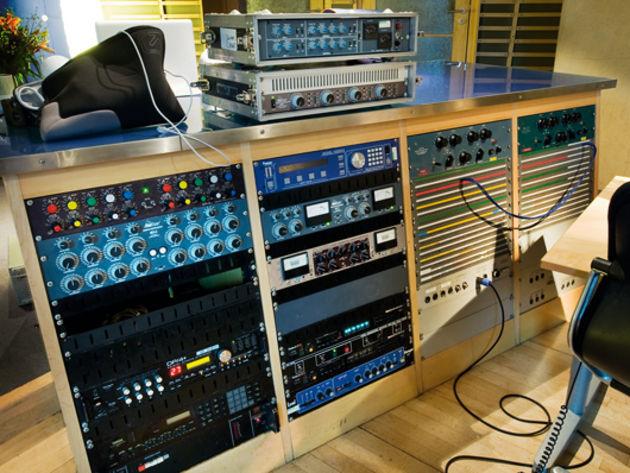 Studio A rack