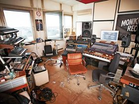 In pictures: Moderat's Berlin studio