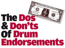 The dos and don'ts of drum endorsements