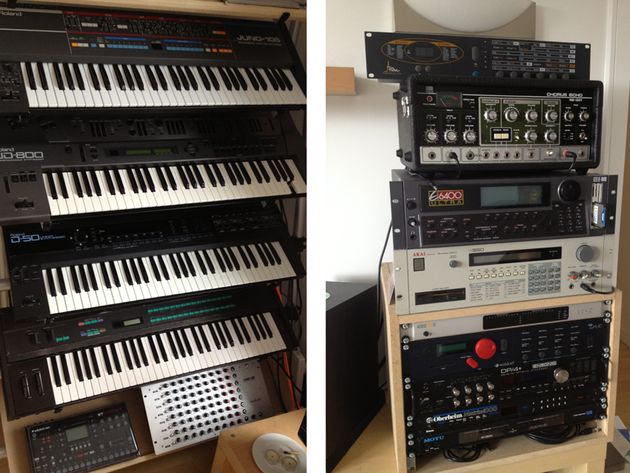 Synths and rack gear