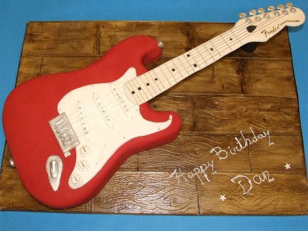 Images Stratocaster Cake