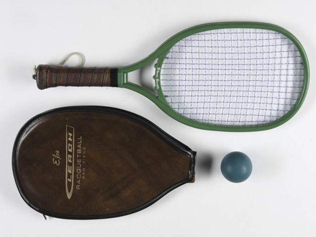 Elvis Presley racquetball racquet