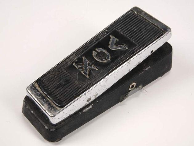 Jimi Hendrix Vox Clyde McCoy wah-wah pedal