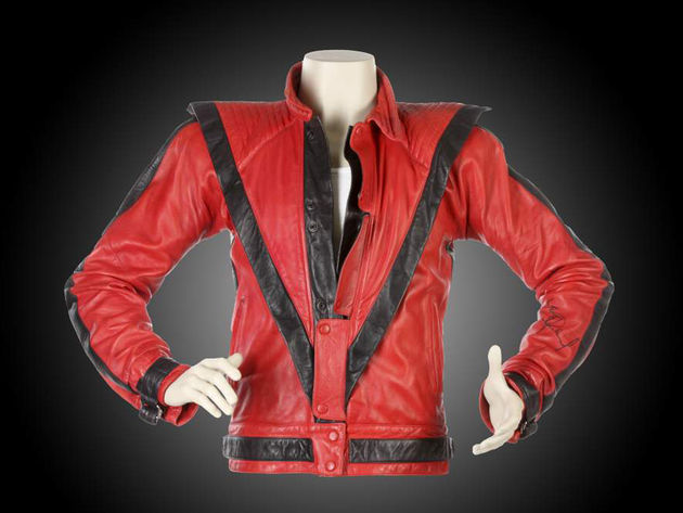 Michael Jackson video worn Thriller jacket