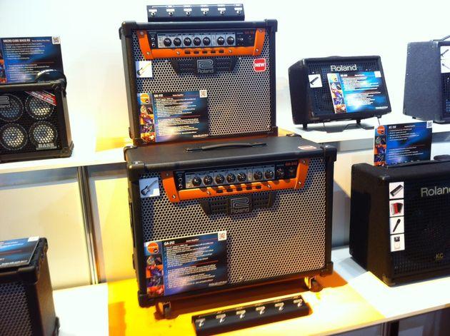 Roland guitar amps