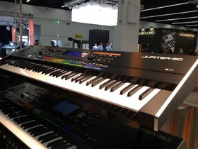 Musikmesse 2012 video: Roland Jupiter-50