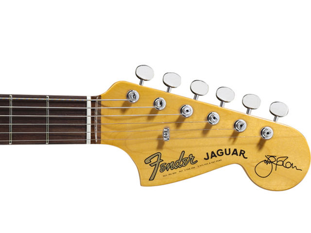 The headstock. Yep, that's a Johnny Marr signature all right