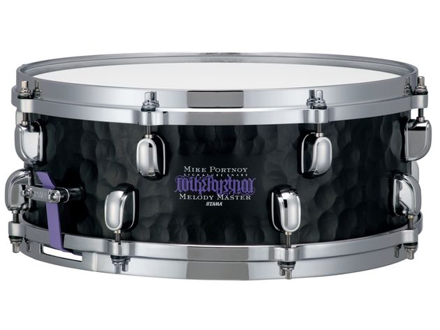 The new Tama Mike Portnoy steel signature 5.5x14-inch snare