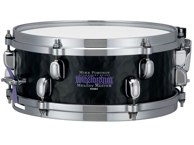 The new Tama Mike Portnoy steel signature 5x12-inch snare