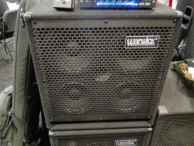 SUMMER NAMM 2013: Warwick introduces new bass amp products