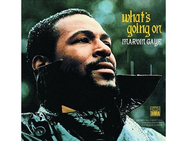 Marvin Gaye – What's Going On (1971) Also: Marvin Gaye – I Want You (1976)