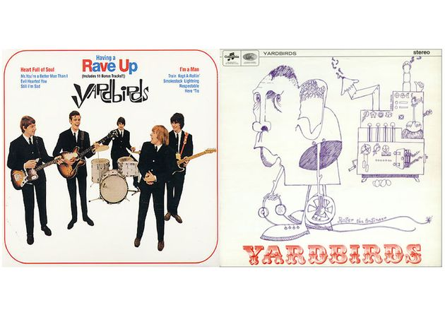 The Yardbirds – Having A Rave Up (1965) and Roger The Engineer (1966)