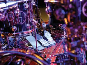 Neil Peart's Time Machine drum setup in pictures