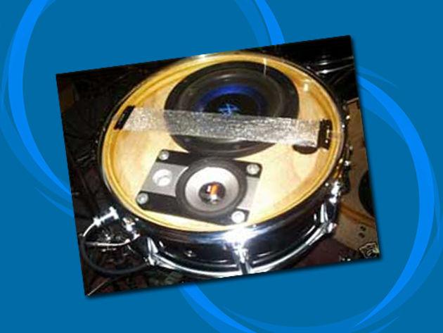 Speaker drums
