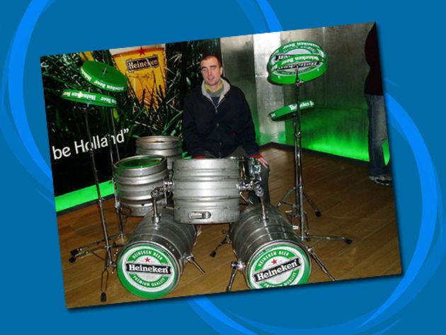 Heineken Drums