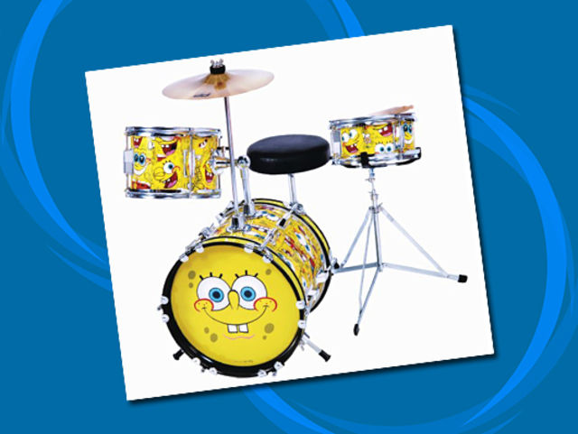 SpongeBob SquarePants drums