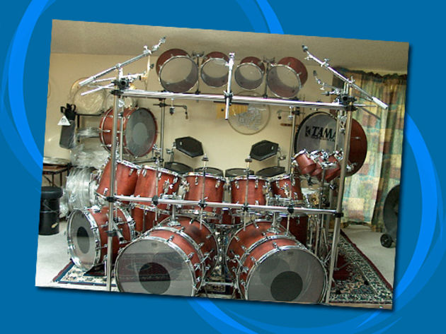 Have a Tama showroom in your den!