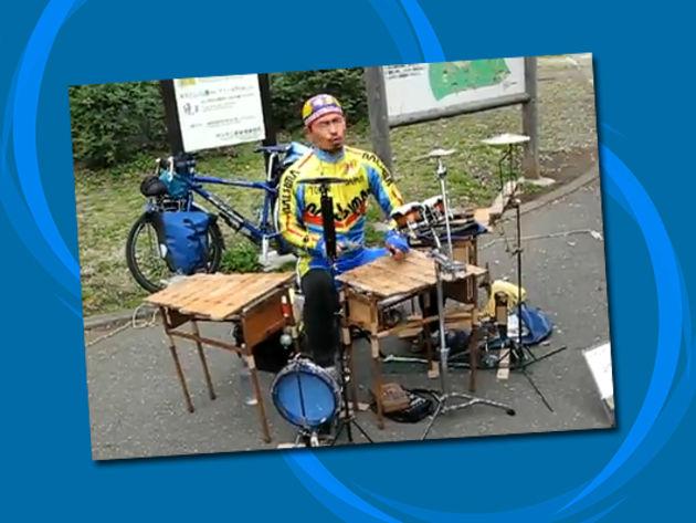 Xylophone drum set