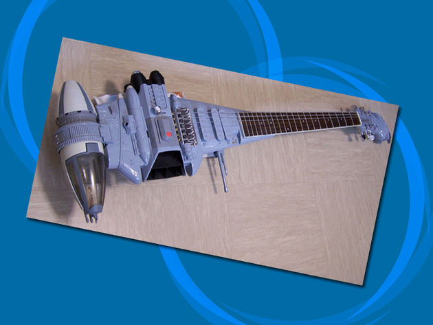 Star Wars B-Wing Fighter guitar