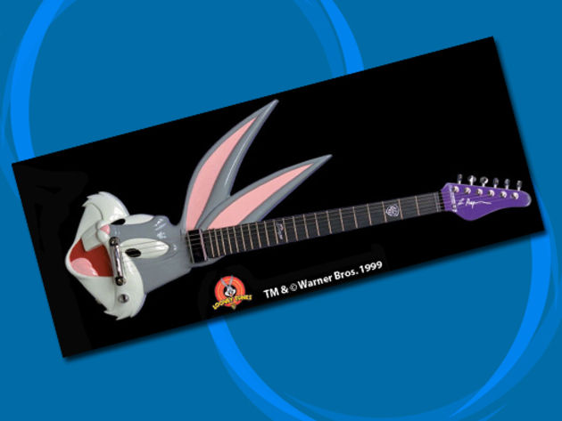 Rick Hayes Bugs Bunny guitar
