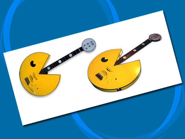 The Pacman guitar