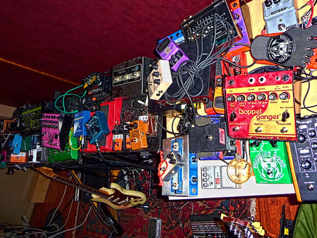 We've got some pedals...