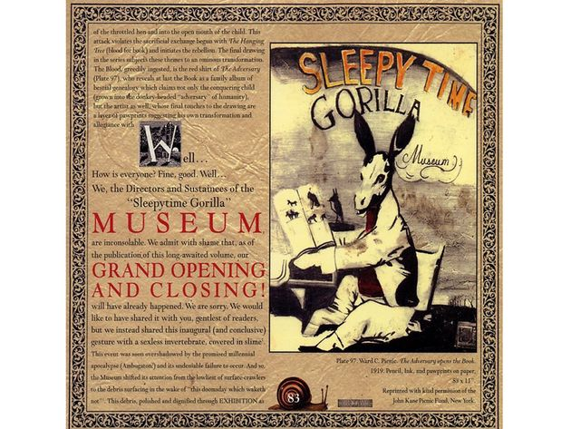 Sleepytime Gorilla Museum – Grand Opening And Closing (2001)